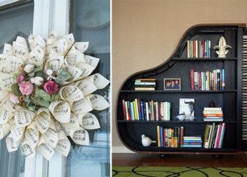 25 ідей для декору з музичним настроєм