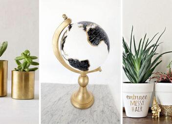 Декоруємо золотим кольором: 16 фото-ідей