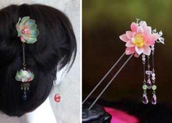 Китайські шпильки для волосся