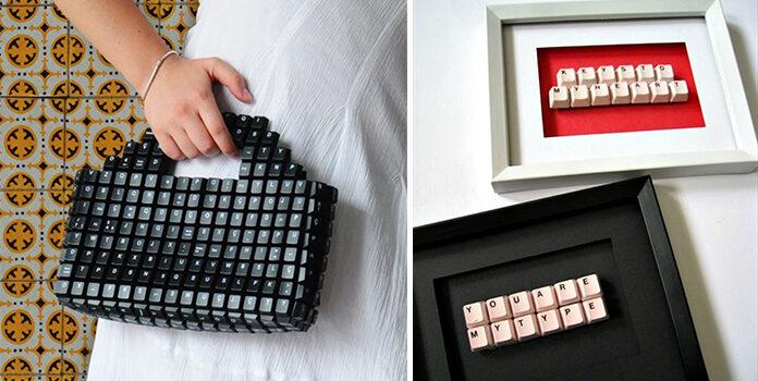 16 ідей для використання старої клавіатури