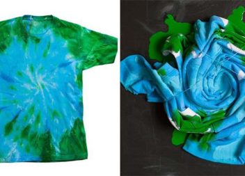 Фарбуємо футболку у техніці тай-дай: покроковий майстер-клас