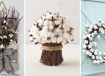 Декоруємо оселю гілочками бавовни: 17 ідей