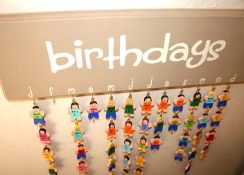 Календар днів народжень своїми руками: 16 ідей