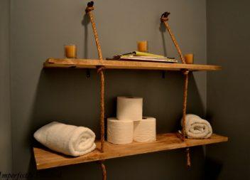 Шафи та полички у ванній: 21 ідея