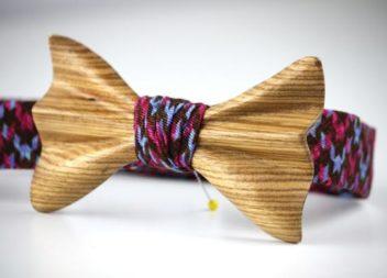 Дерев'яні краватки-метелики