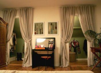 Фіранки замість дверей: 21 креативна ідея