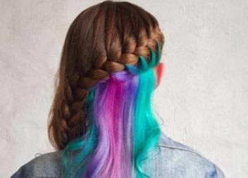 Кольорове волосся: 25 ідей для натхнення