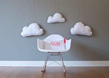 Декор хмаринками: 21 ідея