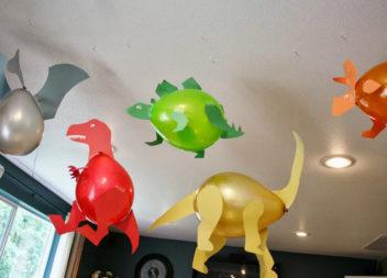 """Дитячий день народження у стилі"""" Динозаври"""": декор та деталі"""