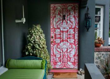 16 ідей для декору дверей