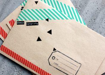 Декоруємо конверти: 21 ідея