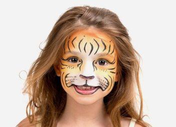 Малюємо на обличчі: 21 ідея до дитячого свята