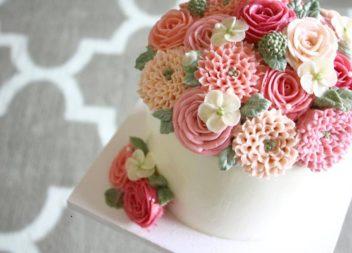 Неймовірні квіткові торти
