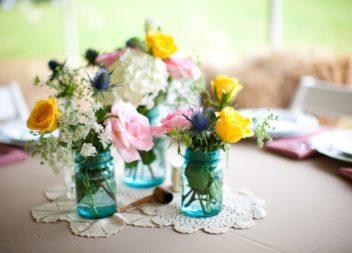 Квіткова композиція у банці: 16 ідей