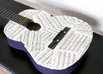 16 ідей для використання старої гітари