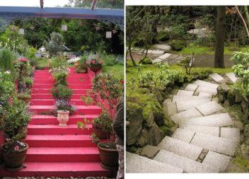 Сходи у саду та на подвір'ї: 16 ідей