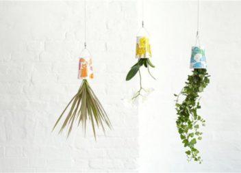 21 ідея для створення підвісного саду