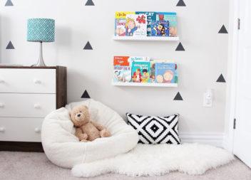 Дитячий куточок для читання: 22 ідеї