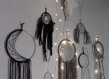 Ловець снів-місяць своїми руками: відео майстер-клас