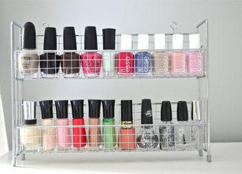 16 ідей для зберігання лаку для нігтів