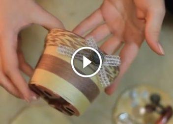 Простий декор квіткового горщика: відео майстер-клас
