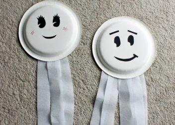 Творимо з дітьми: пластикові та паперові тарілки