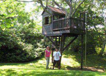 Хатинка на дереві: 16 ідей для дітей