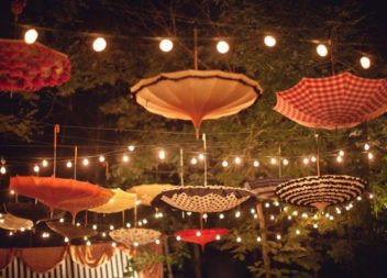 Використовуємо парасольки для декору: 16 ідей до свят і не тільки