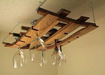 11 ідей для зберігання скляних бокалів