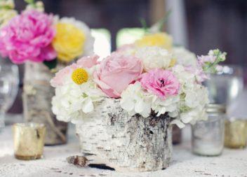 25 ідей для декорування весільного столу