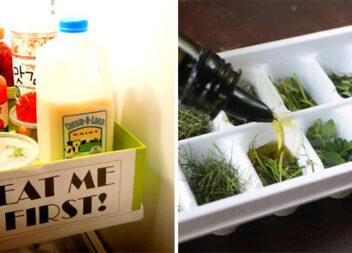 12 лайфхаків організації вашого холодильника та морозильної камери