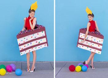 Веселий костюм тортика для вечірки: фото-урок