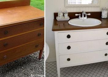 10 способів переробити старі меблі у новий елемент декору