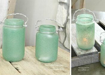 Фото-урок: робимо морські скляні ліхтарики