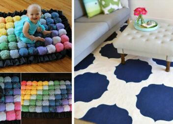 Цікаві ідеї килимків для вашого дому