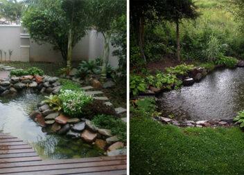 Водойма на задньому дворику: 15 фото-ідей