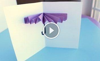 Листівка-парасолька для дітей: відео-урок