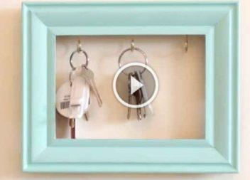 Рамка-тримач для ключів: відео-урок