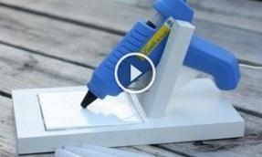 Канцелярські вироби з допомогою клею: відео-урок