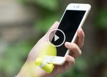 Міні-вентилятор для мобільного телефону своїми руками: відео-урок