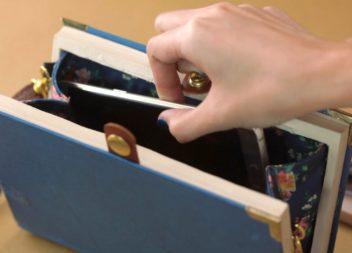 Сумка-клатч із книги: майстер-клас