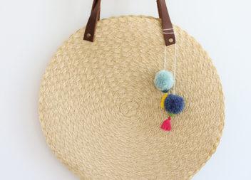 Красива пляжна сумка своїми руками: майстер-клас