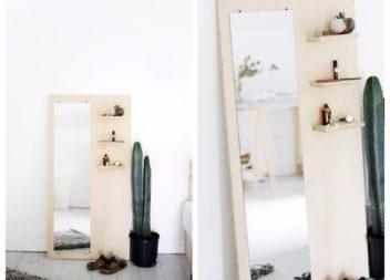 Оригінальне дзеркало із фанери: фото-урок