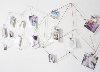 20 способів прикрасити кімнату сімейними світлинами