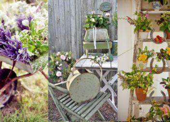 Вінтажний стиль у саду: 20 ідей для натхнення