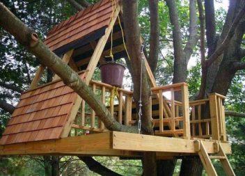 Будиночок на дереві: 14 унікальних ідей