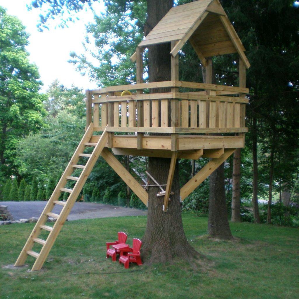 Как сделать мне ребенку дом на дереве 389