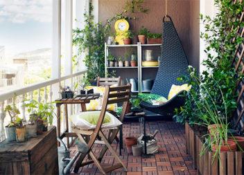 25 захоплюючих ідей декорування балкону