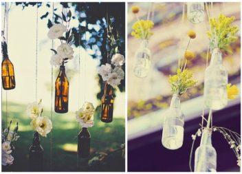 Як використати скляні пляшечки: 18 ідей