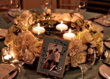 Свічки на столі: 16 ідей для весільного декору